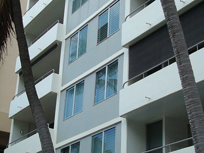 Residential Apartments, Replacing Old Steel Louvres, Hawaii