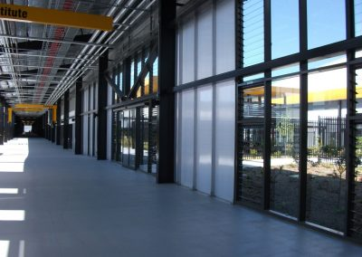 Altair Louvres can be installed into large training centres or warehouses to keep occupants feeling cool and refreshed.
