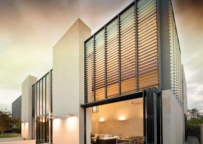 For those who live in monsoonal areas Breezway louvres can withstand the harshest conditions.