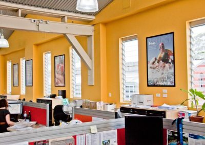 Increased natural ventilation has been proven to increase staff morale and productivity while reducing electricity.