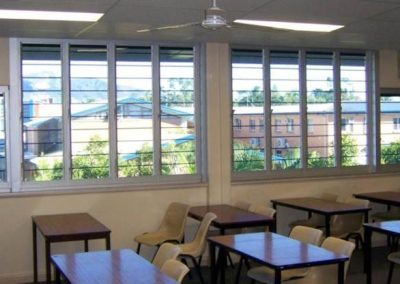 Natural ventilation has been proven to stimulate young minds while reducing the need for air conditioning throughout the day.