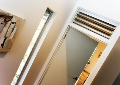 Altair Louvre Windows allow fresh air in to circulate the room even when the door is closed.