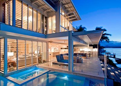 Pool and Beach Views