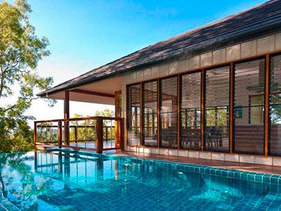 Luxury Pole Home, Balinese Style, Australia