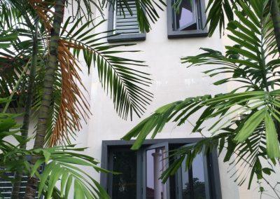 Altair Louvres on the exterior facade