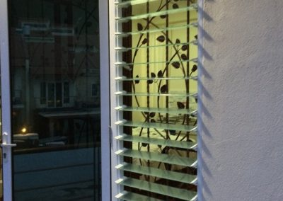 Altair Louvres provide privacy and fresh air