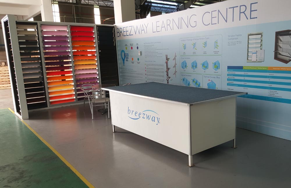 The Debut of the Breezway Louvre Window Learning Centre