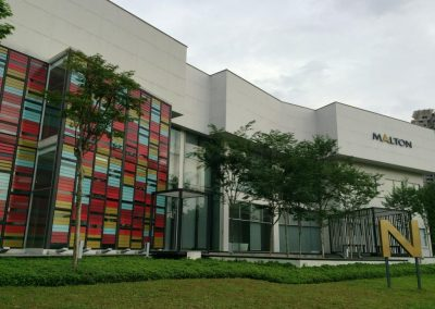 Exterior Facade of Nova Pantai with Breezway Louvres