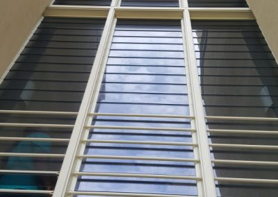 breezway louvre windows with security bars
