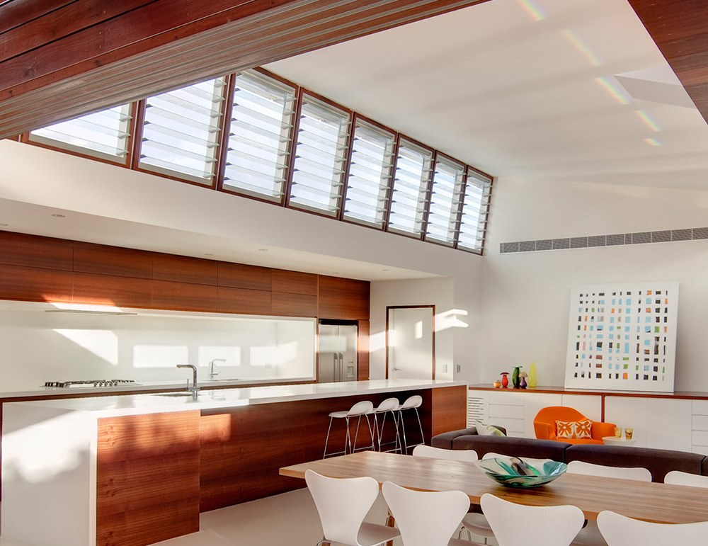 Breezway Louvres in the Kitchen