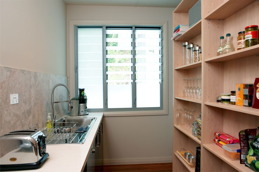 Lighten up dark pantry spaces