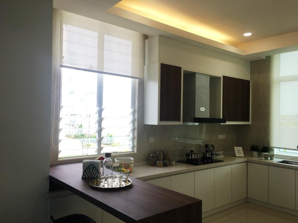 Breezway Louvres in the kitchen help keep them feeling fresh