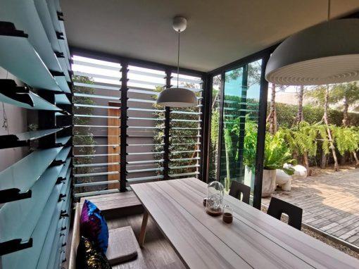 An Inspiring Reading Corner with Light & Ventilation