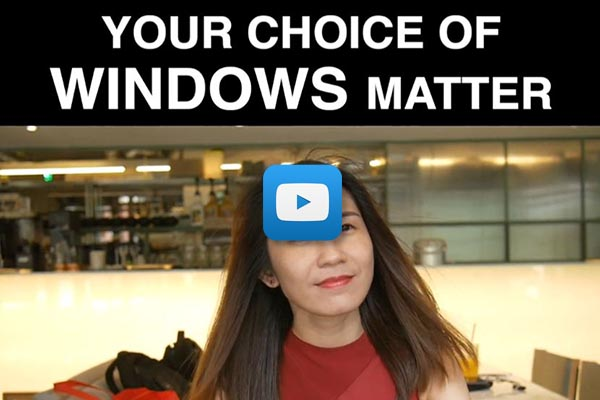 Video Your Choice of Window Matters