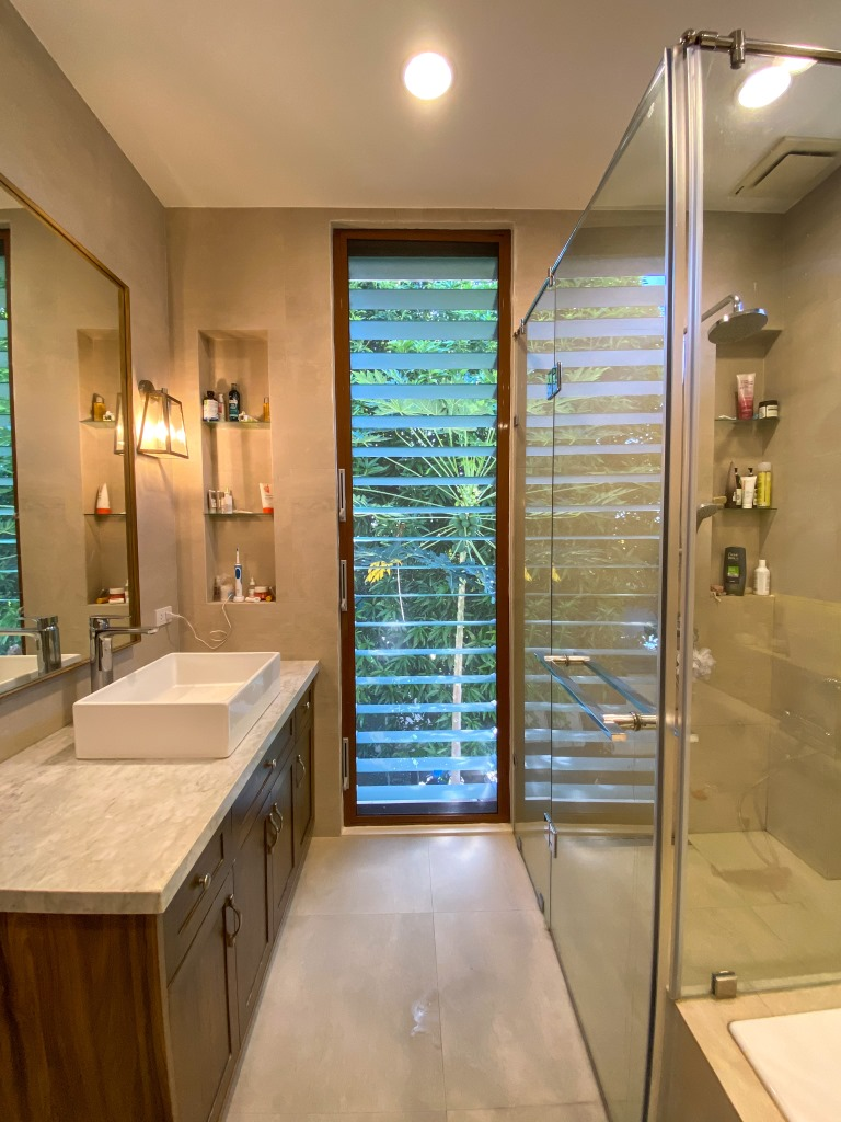 Ventilate bathrooms and create aesthetic appeal with Breezway Louvres