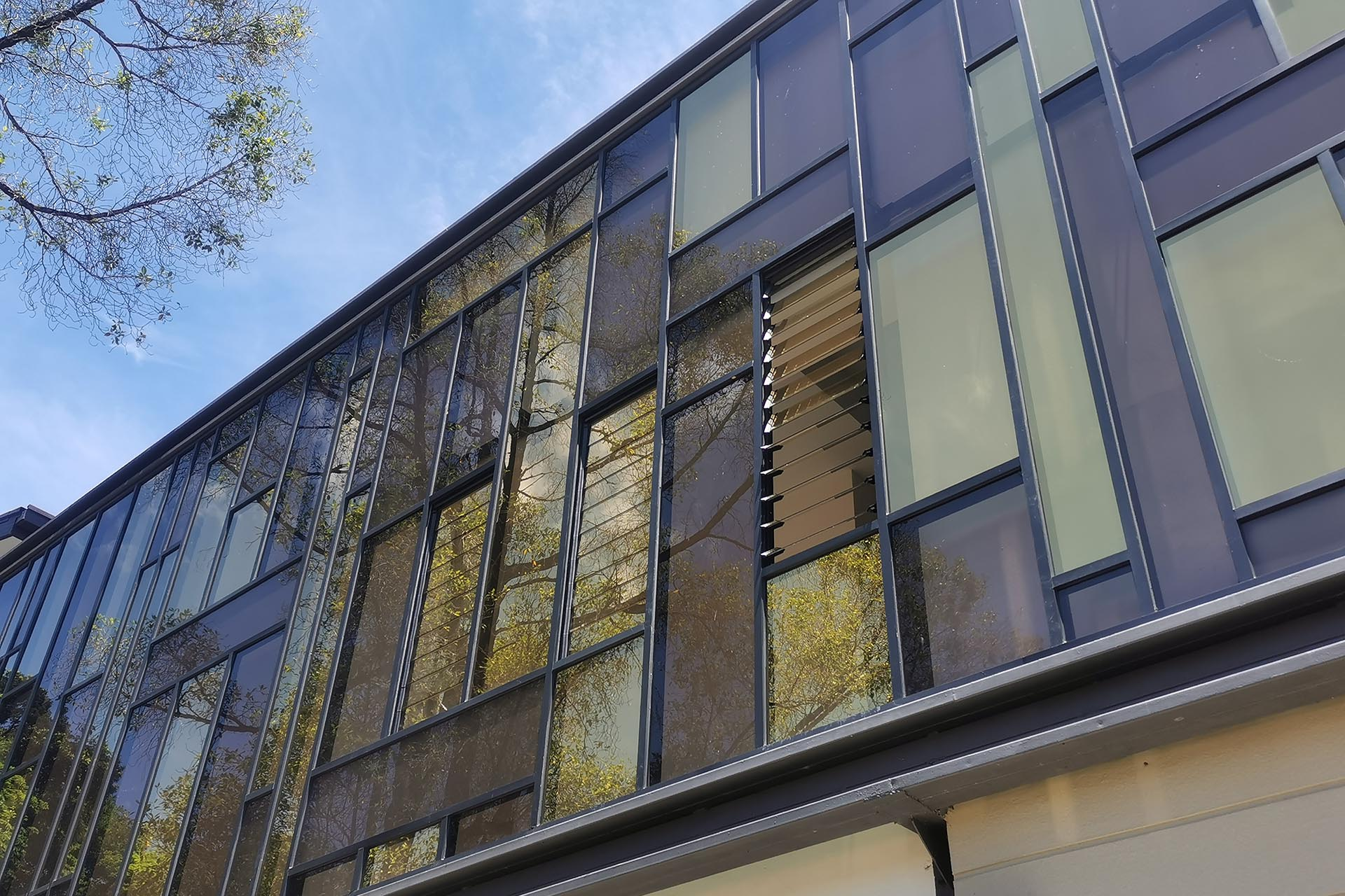 Create asthetic appeal on your facade with Breezway Louvre Windows